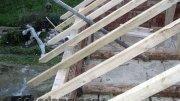 Будівництво двосхилим дахом Своїми Руками Відео