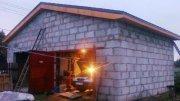 Будівництво Гаража з піноблоків Своїми Руками