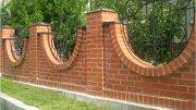 Будівництво цегляних парканів Своїми Руками