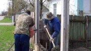 Встановлення бетонних парканів Своїми Руками