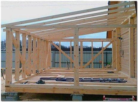 Из чего и как построить веранду на даче своими руками
